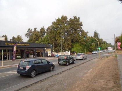 Fijada para el día 16 la desactivación del semáforo de la carretera A-8076 entre Gines y Espartinas (Sevilla)