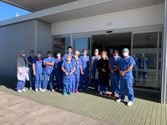Equipo de Urgencias del Hospital Valle del Guadalhorce
