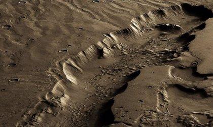 La mejor región para la vida en Marte debió estar muy bajo el suelo