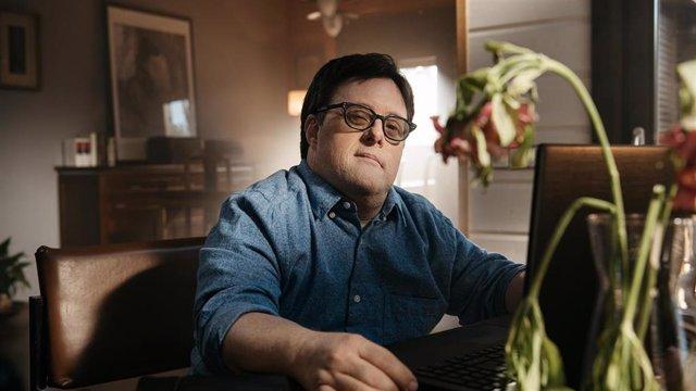 El actor Pablo Pineda, uno de los protagonistas de la campaña 'Vulnerables'