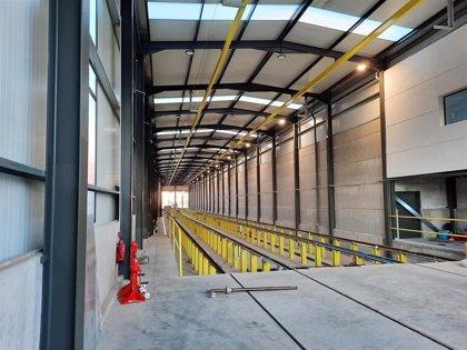 Renfe finaliza la obra de construcción de la nueva Base de Mantenimiento de Badajoz