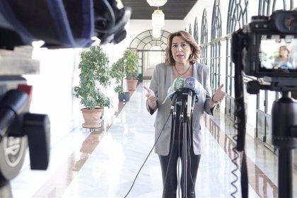 """Susana Díaz lamenta que Marín quiera """"vender lo que queda de Cs"""" al PP-A a """"precio de saldo"""": """"Se veía venir"""""""
