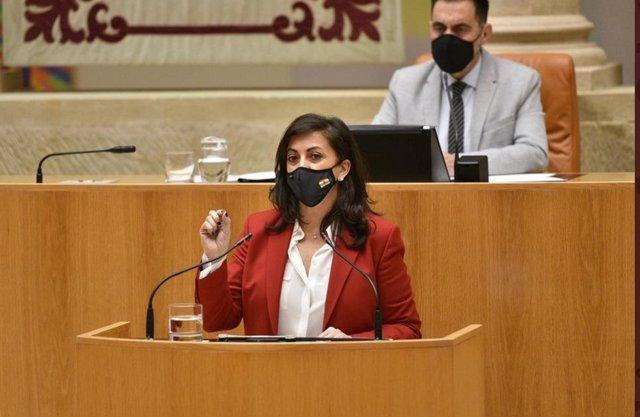 La presidenta del Gobierno, Concha Andreu