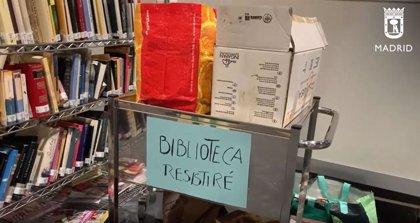La biblioteca 'Resistiré' del hospital de Ifema recibe el Premio Antonio de Sancha de Asociación de Editores de Madrid