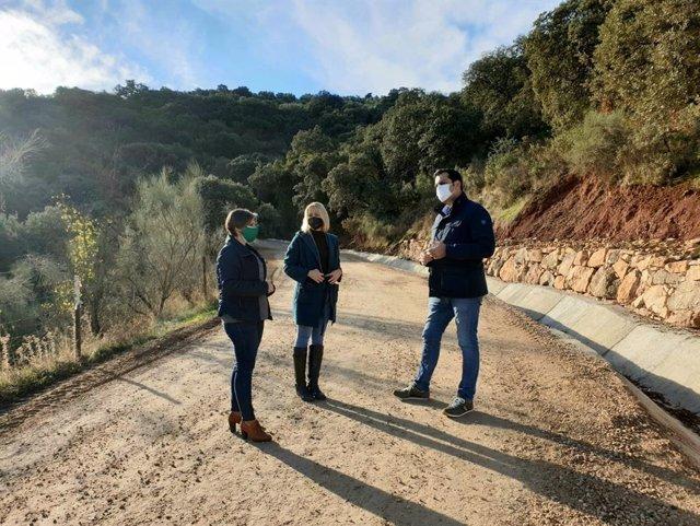 Visita al camino rural El Villar.