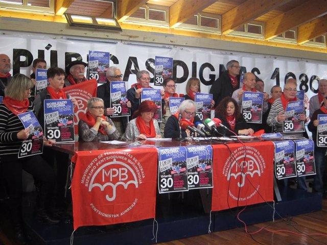 Movimiento de pensionistas de Bizkaia