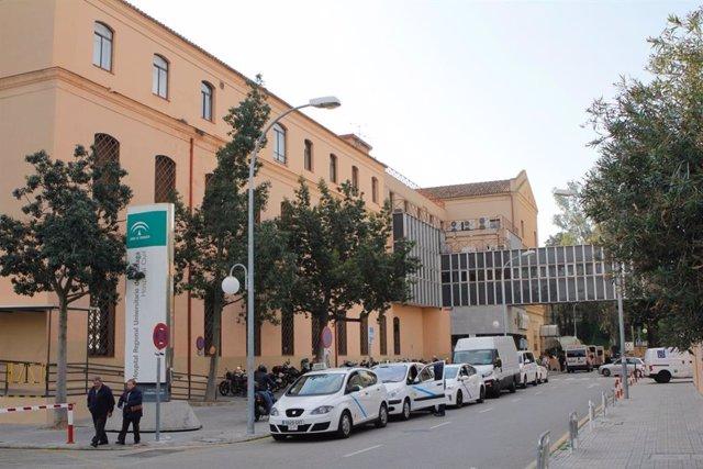 Terrenos del hospital civil málaga donde se prevé el tercer hospital de Málaga capital