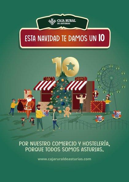 Caja Rural inicia una campaña de descuentos del 10% en compras con tarjetas de la entidad en más de 4.000 negocios