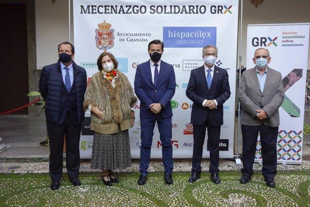 Presentación de la plataforma 'Mecenazgo solidario GRX'