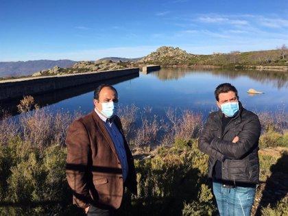La Diputación de Cáceres aborda la situación de la presa de abastecimiento de agua a Piornal