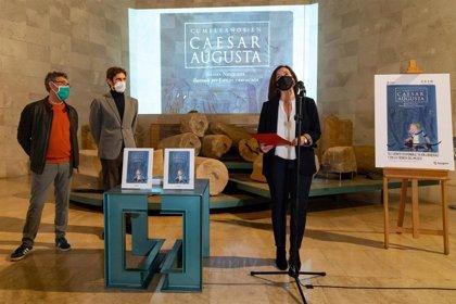 El Ayuntamiento de Zaragoza edita un cuento para descubrir el patrimonio de la ciudad romana