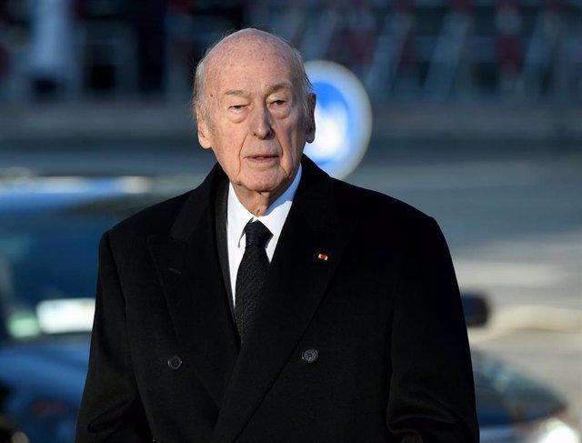 Valery Giscard d'Estaing, ex presidente de Francia
