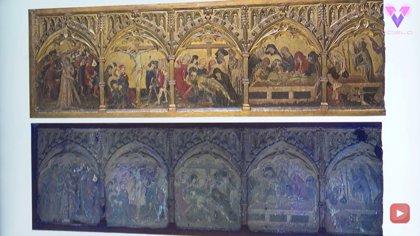 Así es el antes y el después de una obra restaurada del año 1400