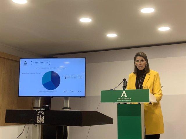 Mercedes García Paine, delegada territorial de Igualdad, Políticas Sociales y Conciliación de la Junta en Málaga