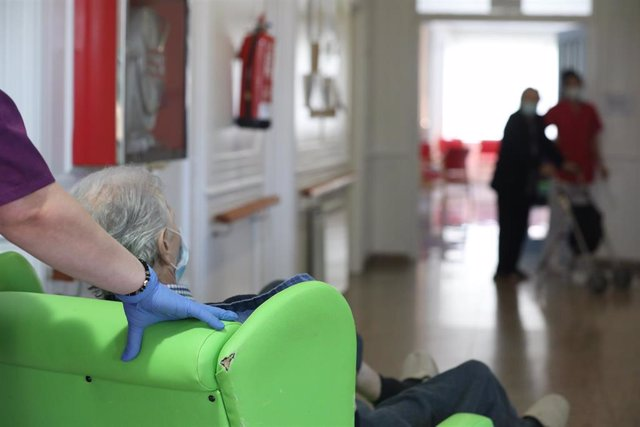 Residencia de ancianos, foto de recurso