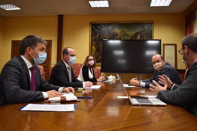 Ndp Ayto Guadalajara Reunión Vicepresidente Casco Histórico Diciembre 2020