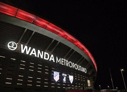 El Atlético, multado con 350.000 euros por exceso de aforo en el fondo sur del Wanda