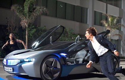 Tom Cruise, acrobacias a toda velocidad en Roma en el rodaje de Misión Imposible 7