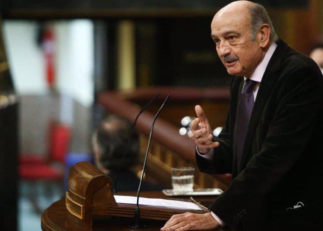 El diputado nacional del PRC, José María Mazón, en el Congreso