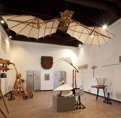 Los inventos de Leonardo llegan al Ateneo Mercantil de València