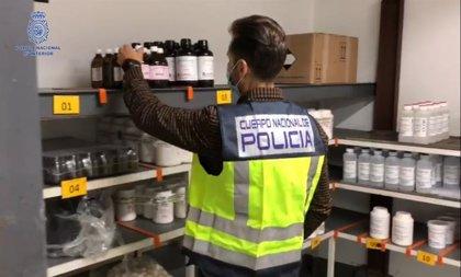Desarticulada una de las mayores redes de distribución de sustancias químicas para la adulteración de droga