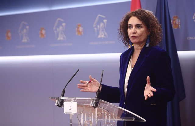 La ministra d'Hisenda i portaveu del Govern espanyol, María Jesús Montero. Madrid (Espanya), a 3 de desembre del 2020.