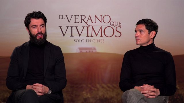 Entrevista con Javier Rey y Pablo Molinero, protagonistas de El verano que vivimos