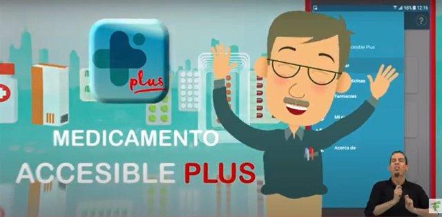 Los farmacéuticos, ONCE y Vodafone España renuevan su compromiso con la información accesible de medicamentos