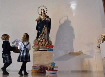 El Colegio CEU San Pablo Sevilla celebra la solemnidad de la Inmaculada, patrona del centro, con multitud de actos