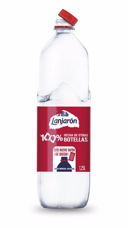 Todas las botellas de agua de Lanjarón serán de plástico reciclado en 2021