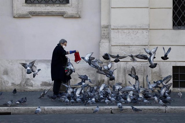 Una mujer en Roma
