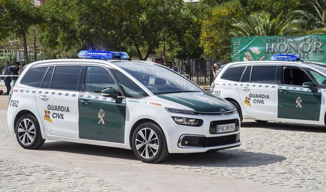 Cotxes patrulla de la Guardia Civil.