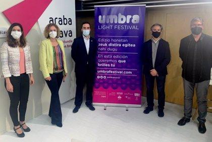 El 'Umbra Light Festival' de Vitoria se celebrará en noviembre de 2021 tras suspenderse este año por el covid