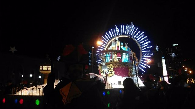 Cabalgata de los Reyes Magos en Madrid.