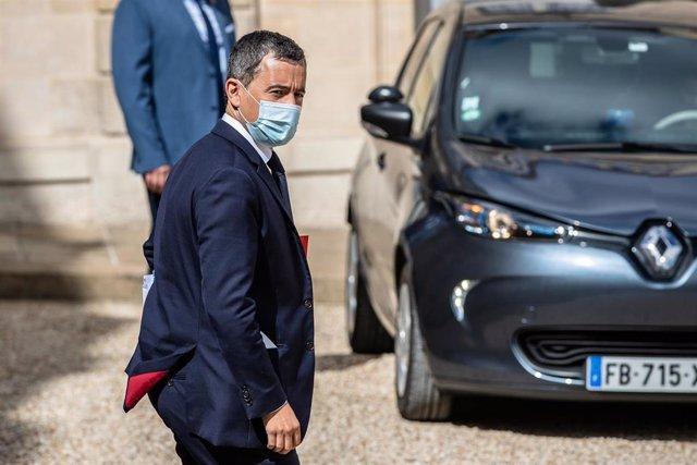 El ministro del Interior de Francia, Gerald Darmanin.
