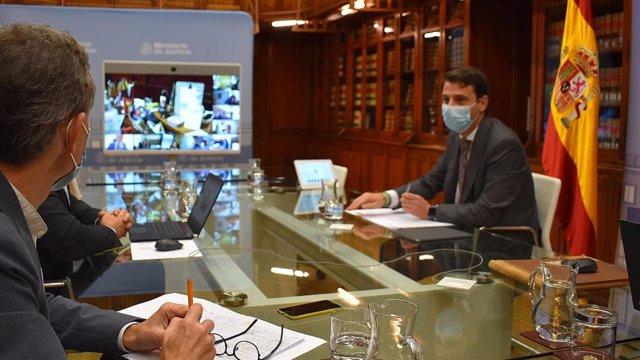 El secretario general para la Innovación y Calidad del Servicio Público de Justicia, Borja Vargues