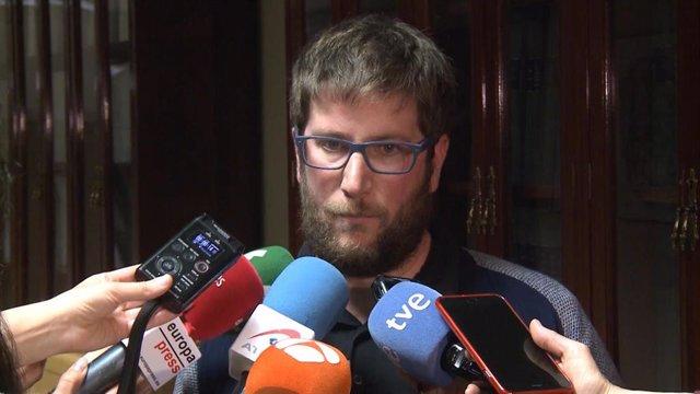 Imagen de recurso del eurodiputado y dirigente de Anticapitalistas Miguel Urbán.