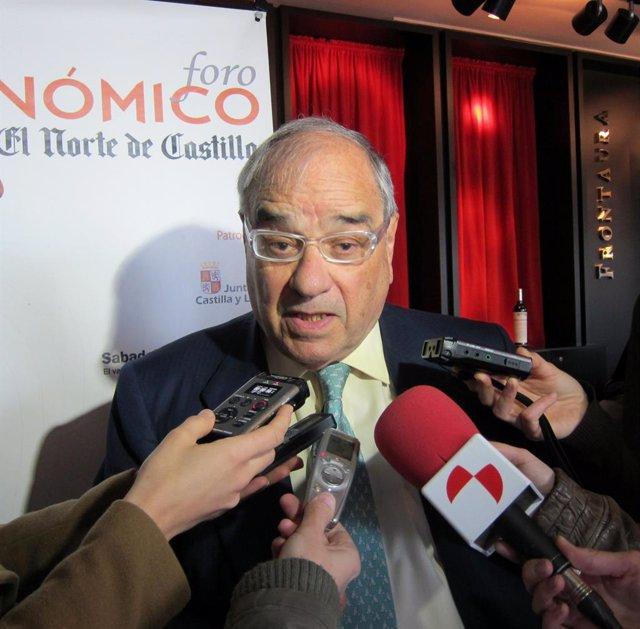 Rodolfo Martín Villa, En El Foro Económico De El Norte De Castilla.