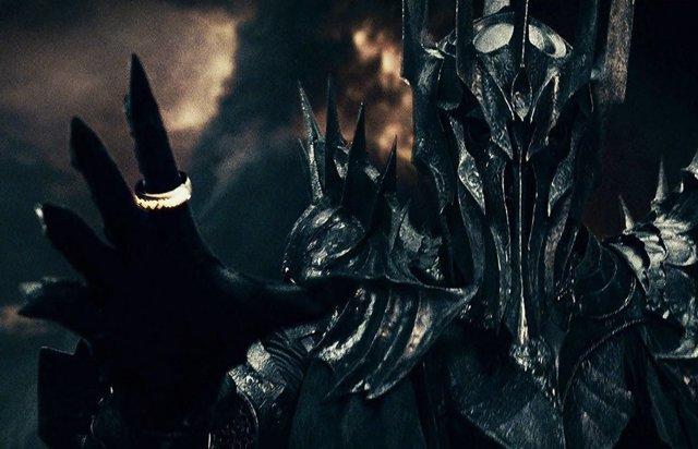 Sauron en la trilogía de El señor de los anillos de Peter Jackson