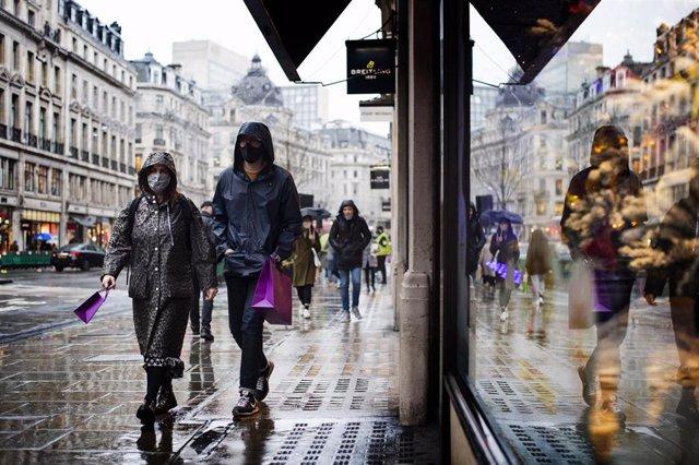 Londres, durante la pandemia de coronavirus.