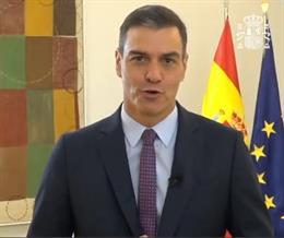 El presidente del Gobierno, Pedro Sánchez, participa en el 'Web Summit'.