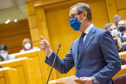 """Maroto achaca a Vox que no prosperaron enmiendas del PP a los PGE porque se """"marcharon"""" durante las votaciones"""