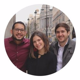 Emprendedores de la startup 4U