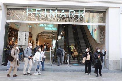 Primark cifra en 475 millones el impacto en sus ventas de los cierres por la segunda ola