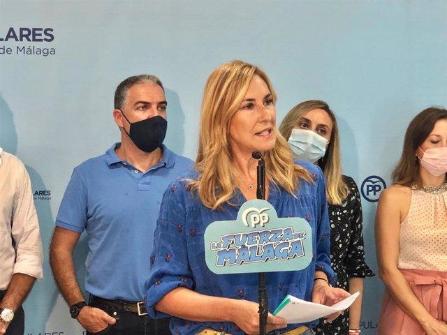 La vicesecretaria de Organización del PP, Ana Beltrán, durante un acto