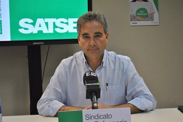 Manuel Cascos, presidente de Satse