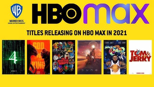 HBO MAX llegará a España en 2021