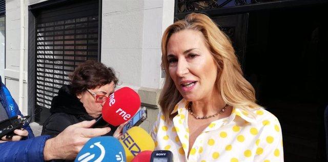 Ana Beltrán, presidenta del PPN y vicesecretaria de Organización del partido.