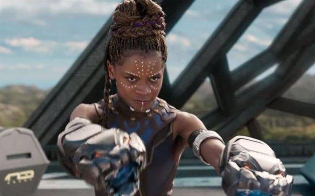 Letitia Wright es Shuri en Black Panther de Marvel