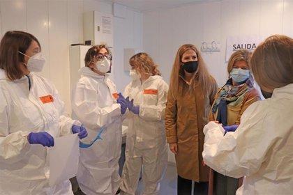 Mestre destaca la importancia de los cribados para conocer la situación de la pandemia en la provincia de Cádiz